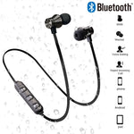 Magnetic Wireless Bluetooth Sports Waterproof Earbuds with Mic For smart phones - Sell-off