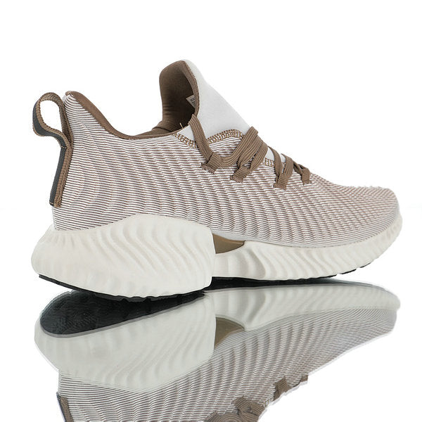chaussures de sport e9bcc 74006 Mens Womens Winter Shoes Adidas AlphaBounce Instinct Water ripple dark  brown beige