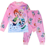 Girls Pyjama Snow Queen Elsa Anna Princess Cute suit - Sell-off