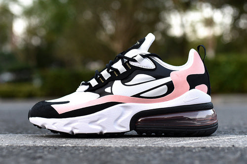 Nike Air Max 270 React Bleached Coral Women's Sportswear Running Shoes - Sell-off
