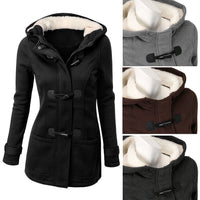 Winter Women Outwear Lady Thicken Warm Coat Hood Parka Long Jacket Overcoat - Sell-off