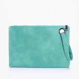 Fashion solid women's clutch bag leather women envelope bag clutch evening bag female Clutches Handbag - Sell-off