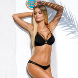 Hot Sale bikini swimwear women Bandage Bikini Set - Sell-off