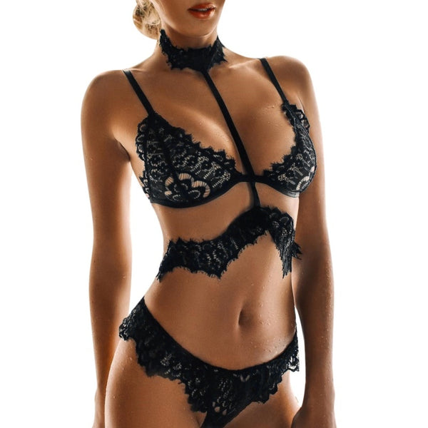 Sexy Intimate Underwear Women Lace Bra Set Female Set - Sell-off