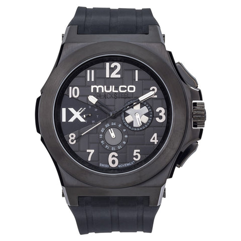 Mulco Blacksteel - Black with Silver