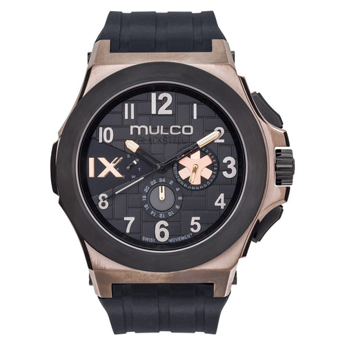 Mulco Blacksteel - Bronze on Black