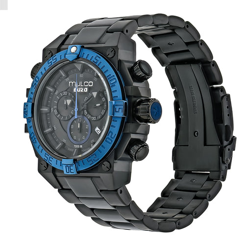 Mulco Buzo Dive - Blue on Black