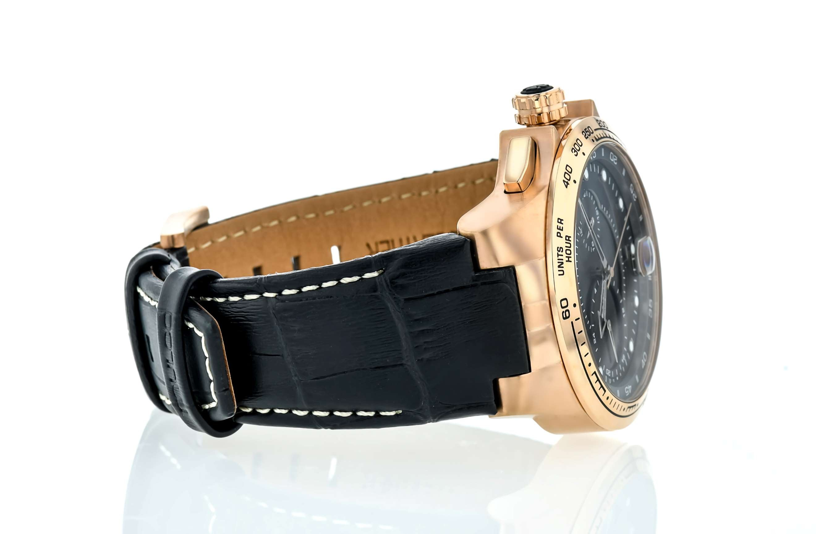 Mulco Lyon - Rose Gold on Black