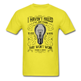 I Haven't Failed - Men's - yellow