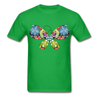 Patterned Butterfly - Men's - bright green