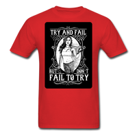 Try and Fail - Unisex - red