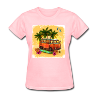 VW Bus Surfing - Women's - pink