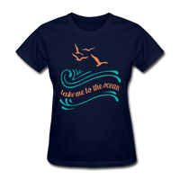 Take Me to the Ocean - 3 - Women's - navy