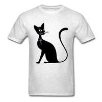 Lady Black Cat - Men's - light heather grey