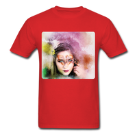 Beautiful Lady Butterfly - Unisex - red