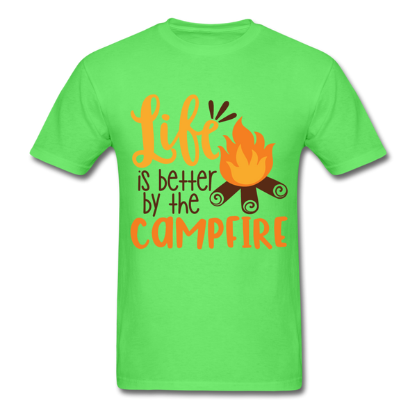 Life is Better Campfire - Men's - kiwi