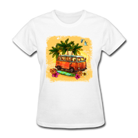 VW Bus Surfing - Women's - white