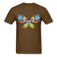 Patterned Butterfly - Men's - brown