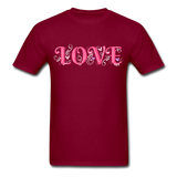 Love Design - Unisex - burgundy