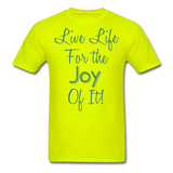 Life Life Joy - Unisex - safety green