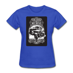 The Cars We Drive - Women's - royal blue