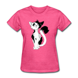 Black Tailed Cat - Women's - heather pink