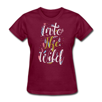 Into the Wild - burgundy