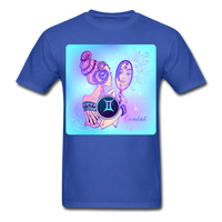Gemini Lady on Blue - Unisex - royal blue