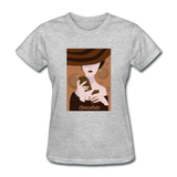 A Chocolate Eating Classy Lady - Women's - heather gray