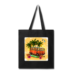 VW Bus Surfing - Tote - black