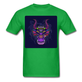 Colorful Dragon Face 2 - Unisex - bright green