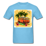 VW Bus Surfing - Unisex - aquatic blue