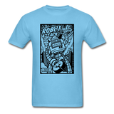 Robot Attack - Men's Tee - aquatic blue
