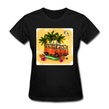 VW Bus Surfing - Women's - black