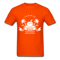 Summer Beach Holiday - Men's Tee - orange