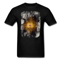 Brown and White Fractal - Unisex - black