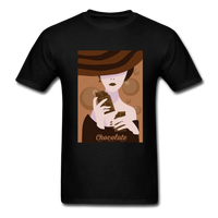 A Chocolate Eating Classy Lady - Men's - black