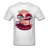 All You Need Is a Vacation - men's - light heather grey