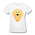 I Love My Golden - Women's Tee - white