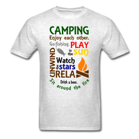 Camping Enjoy Each Other - Unisex - light heather grey