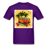 VW Bus Surfing - Unisex - purple