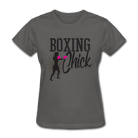 Boxing Chick - Women's - charcoal