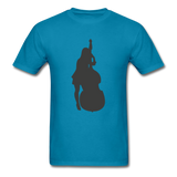 Lady with a Cello - Men's - turquoise