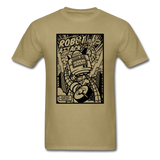 Robot Attack - Men's Tee - khaki