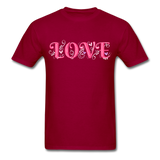 Love Design - Unisex - dark red