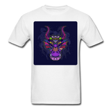 Colorful Dragon Face 2 - Unisex - white