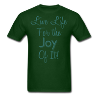 Life Life Joy - Unisex - forest green