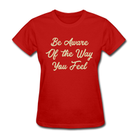 Be Aware - Women's - red