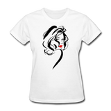 Lady With Red Lips - Women's - white