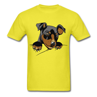 Dog in a Pocket - Men's - yellow